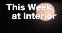This week at Interior, with a moon in the background.