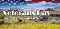 Veterans Day Honoring those who served.