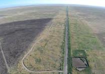 A agricultural landscape.