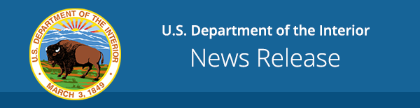 US Department of the Interior News Release