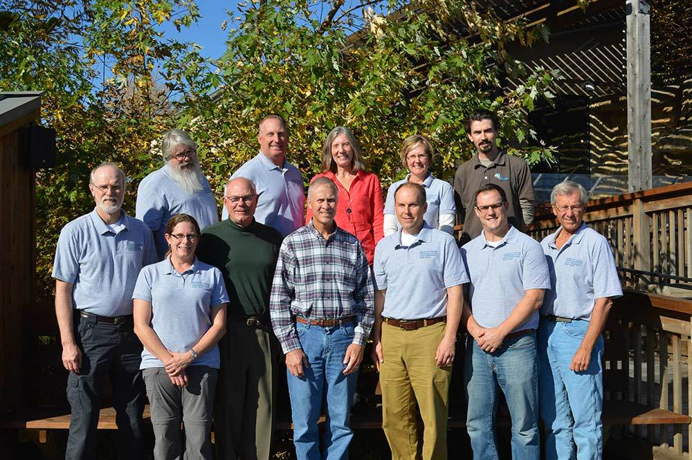 fishers and farmers steering committee poses for picture during 10th anniversary