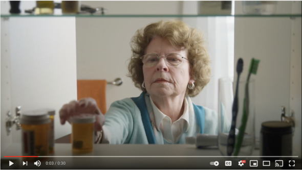 Still image from Take Back Day PSA Video 1