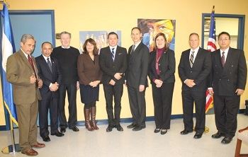 Salvadoran Consulate Generals and OSHA staff