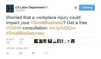 worried that a workplace injury could impact you small buisness get a free osha consultation