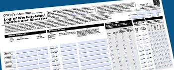 OSHA's injury and illness recordkeeping Form 300.
