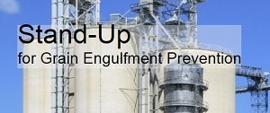 Stand-up for Grain Engulfment Safety