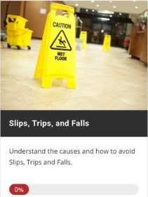 Slips, Trips and falls: Understand the causes and how to avoid slips, trips and falls.