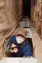 Confined Spaces: attic crawlspace