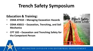 trenching safety webinar