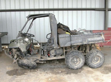 UTV after crash
