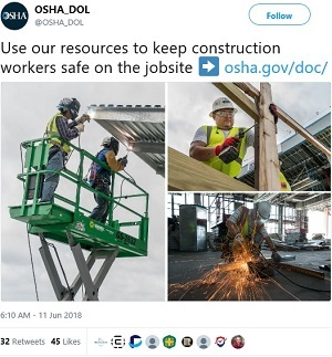 @OSHA_DOL Use our resources to keep construction workers safe on the jobsite ➡️ https://www.osha.gov/doc/