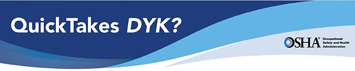 QuickTakes DYK? banner