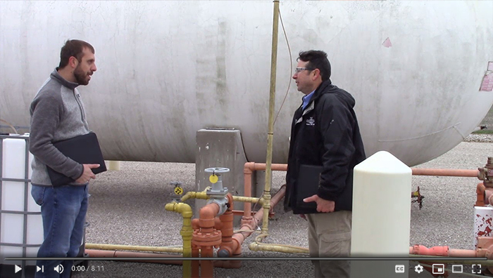 OSHA has a new video on inspections under its ammonium nitrate emphasis program.