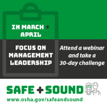 March Webinar and April Challenge - Management Leadership