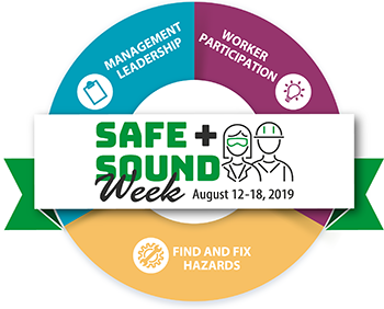 Safe + Sound Week promotes the core elements of an effective safety and health program.