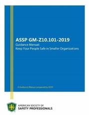 ASSP Z10 Manual