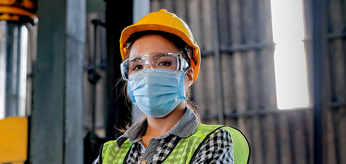 Masks and cloth face coverings used to prevent the spread of coronavirus do not cause unsafe oxygen or harmful carbon dioxide levels for the wearer