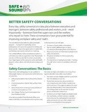 safety convos