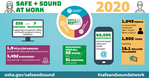 Safe + Sound End of Year Infographic