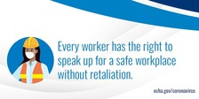 Workers have the right to speak up without retaliation