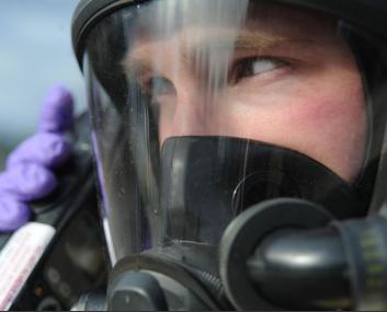 PPE, worker wearing