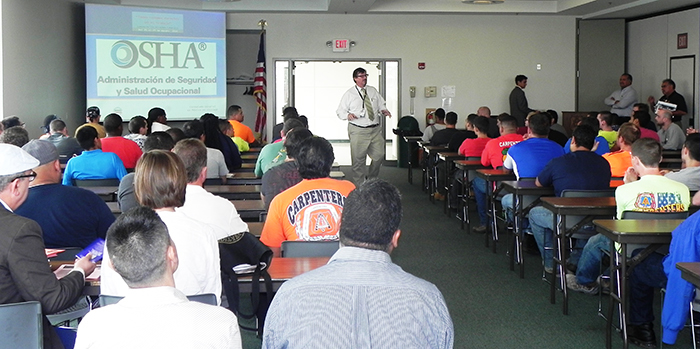 Visit OSHA's website to learn more about workplace safety training grants