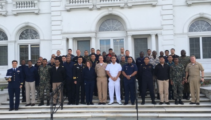 USMMA Welcomes International Maritime Officers to Kings Point
