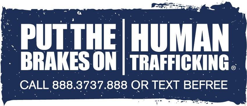 Put the Brakes on Human Trafficking