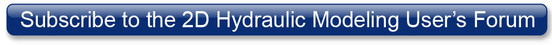 Button to subscribe to the 2D Hydraulic Modeling User's Forum