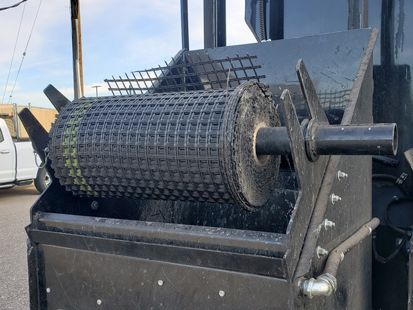 Image:  Glass Grid Dispenser, Arapahoe County, CO Road and Bridge