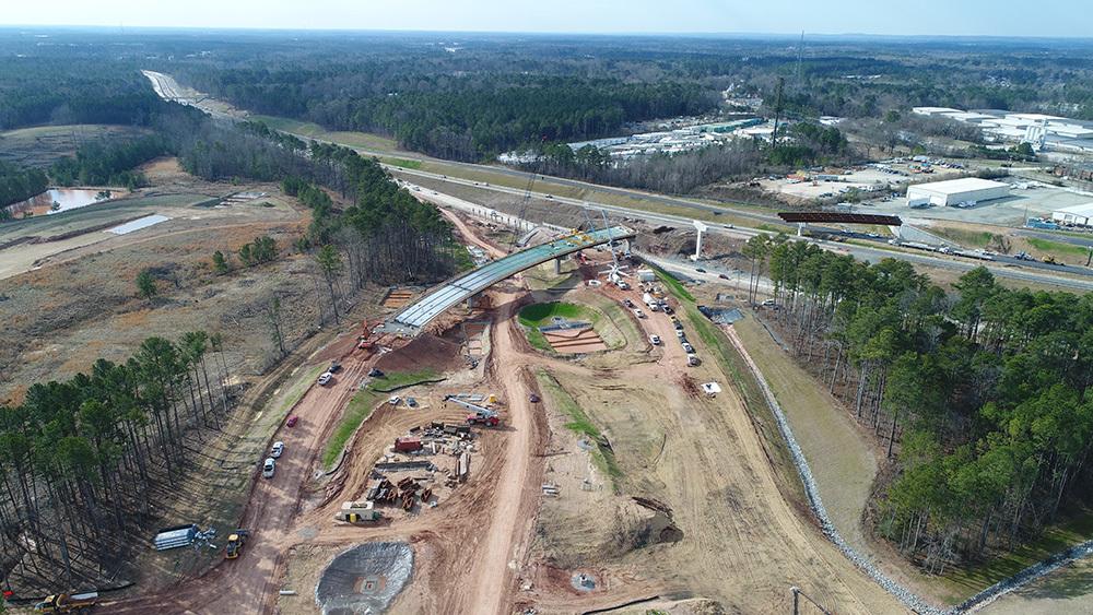 Using UAS in North Carolina construction project.