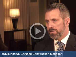 Watch video of Travis Konda, Certified Construction Manager talking about bundling sizes.