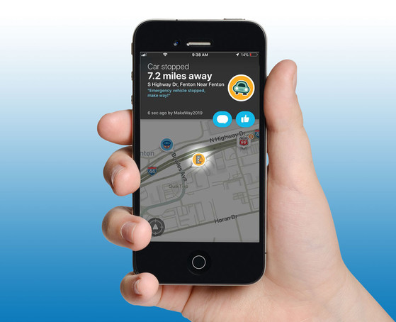 Missouri DOT is piloting crowdsourcing technologies that alert the driving public through the Waze app on mobile devices.