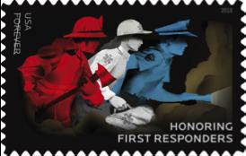 EMS postage stamp
