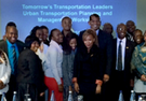South African transportation leaders with Anthony Foxx.