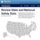 FMCSA Data Quality website