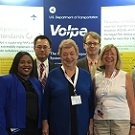 Volpe booth at ATCA