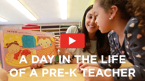 Preschool teachers day in life