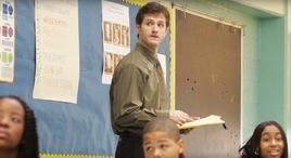 teacher on television