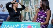 First Lady Playing Game with Youtube Star Lilly Singh