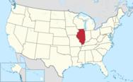 Illinois map