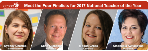 National Teacher of the Year finalists