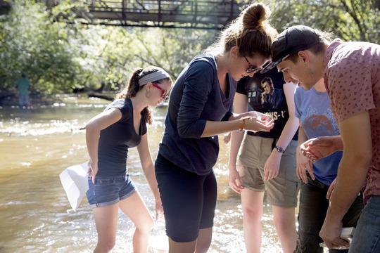 UGA Students Watershed Education