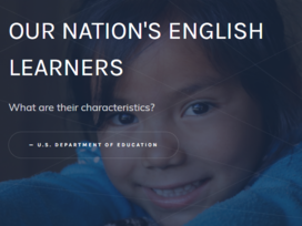 English Learner data story website image