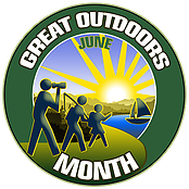 Great Outdoors Month Logo