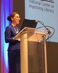 Sarah Sayko at NASTID Conference