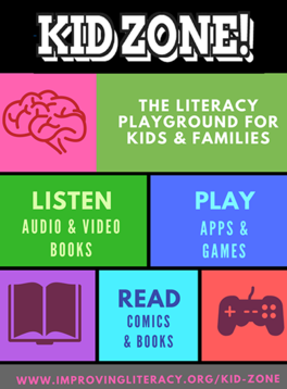 NCIL Kid Zone poster