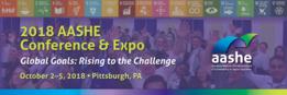 AASHE 2018 Conference Logo