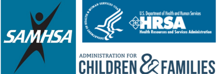 logos for HHS host agencies