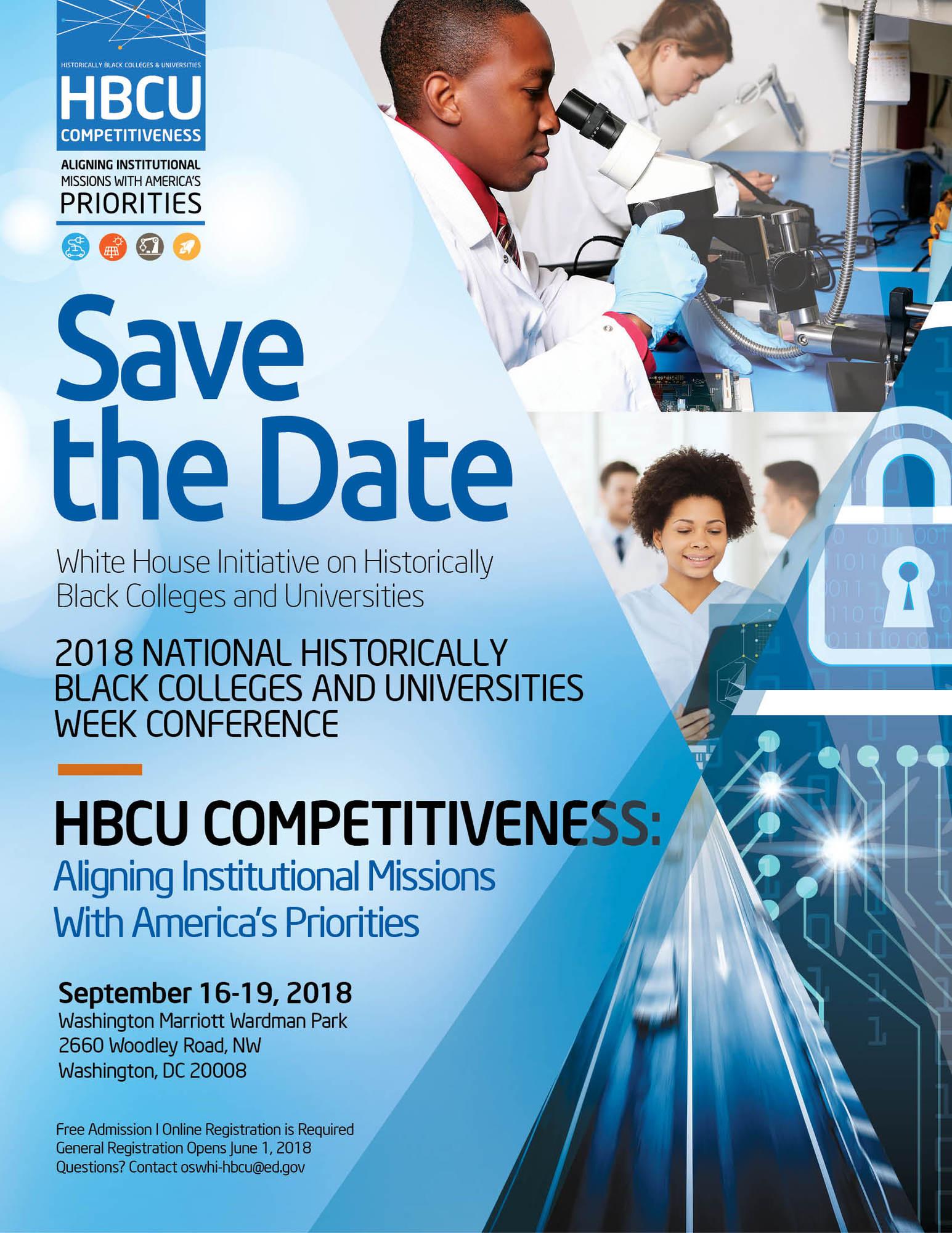 2018 HBCU Week Conference